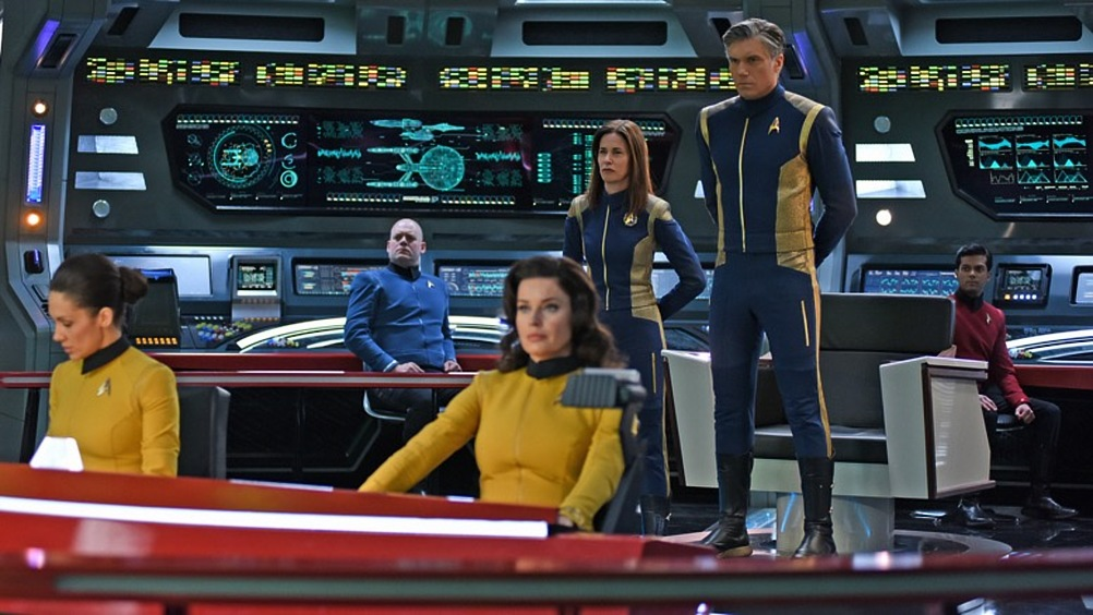 STAR TREK DISCOVERY: An Exhilarating Theme Park Ride